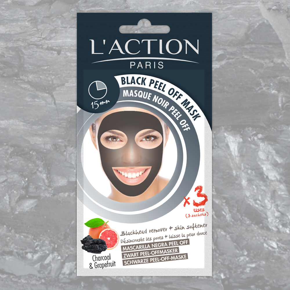 Laction paris black peel off mask blackhead remover skin softener solutioingenieria Images